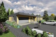Modern Style House Plan - 3 Beds 2 Baths 2222 Sq/Ft Plan #549-14 Exterior - Front Elevation