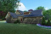 Craftsman Style House Plan - 4 Beds 4 Baths 5098 Sq/Ft Plan #923-121 Exterior - Other Elevation