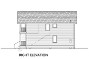 Modern Style House Plan - 3 Beds 2 Baths 1248 Sq/Ft Plan #890-5 Exterior - Other Elevation