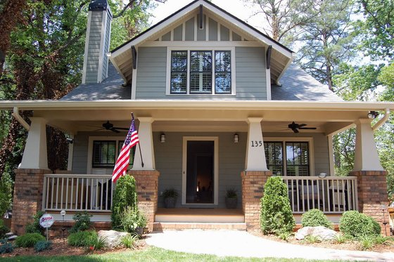Craftsman style, Bungalow design, elevation photo