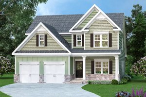 Traditional Exterior - Front Elevation Plan #419-290