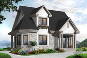 Country Style House Plan - 3 Beds 2 Baths 1534 Sq/Ft Plan #23-2372 Exterior - Front Elevation