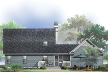 Country Exterior - Rear Elevation Plan #929-47