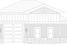 Dream House Plan - Craftsman Exterior - Rear Elevation Plan #932-377
