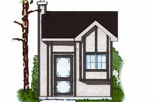House Plan Design - European Exterior - Front Elevation Plan #23-875