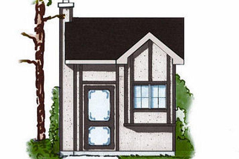 House Plan Design - European Exterior - Front Elevation Plan #23-875