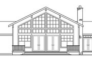 Ranch Style House Plan - 3 Beds 2.5 Baths 2556 Sq/Ft Plan #124-218 Exterior - Rear Elevation