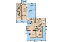 Farmhouse Floor Plan - Main Floor Plan Plan #923-22