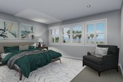 Traditional Style House Plan - 3 Beds 2.5 Baths 2026 Sq/Ft Plan #1060-49 Interior - Bedroom