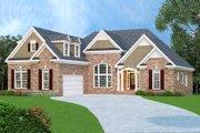 European Style House Plan - 3 Beds 2 Baths 2397 Sq/Ft Plan #419-166