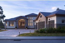 Traditional Exterior - Front Elevation Plan #1066-23