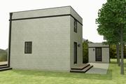Modern Style House Plan - 1 Beds 1 Baths 610 Sq/Ft Plan #914-4
