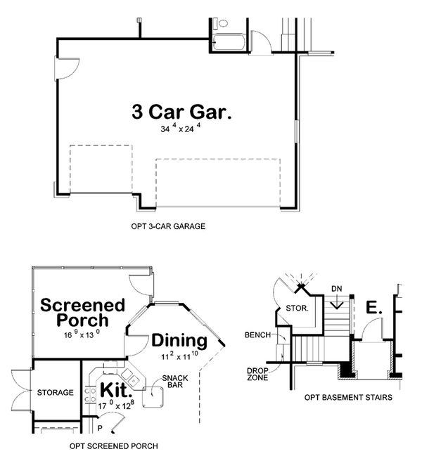 European Floor Plan - Other Floor Plan #20-2145