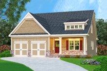 Architectural House Design - Cottage Exterior - Front Elevation Plan #419-216