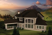 Home Plan - European Exterior - Other Elevation Plan #70-1109
