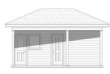 Country Exterior - Front Elevation Plan #932-154