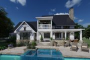 Farmhouse Style House Plan - 3 Beds 2.5 Baths 2526 Sq/Ft Plan #120-272 Exterior - Covered Porch