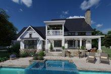 Dream House Plan - Farmhouse Exterior - Covered Porch Plan #120-272