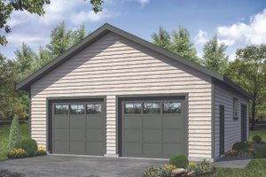 Traditional Exterior - Front Elevation Plan #124-1175