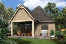 House Plan Design - European Exterior - Rear Elevation Plan #48-1012