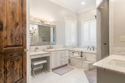 Mediterranean Style House Plan - 4 Beds 4.5 Baths 3474 Sq/Ft Plan #930-276 Interior - Master Bathroom