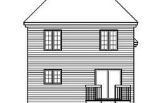 Dream House Plan - European Exterior - Rear Elevation Plan #23-747