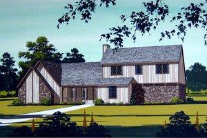 Modern Exterior - Front Elevation Plan #45-325