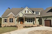 Craftsman Style House Plan - 4 Beds 4.5 Baths 3958 Sq/Ft Plan #437-85 Exterior - Front Elevation