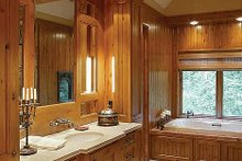 Craftsman Interior - Master Bathroom Plan #48-233