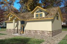 Traditional Exterior - Front Elevation Plan #117-156