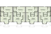 Traditional Style House Plan - 2 Beds 1 Baths 3920 Sq/Ft Plan #17-2457 Floor Plan - Upper Floor Plan
