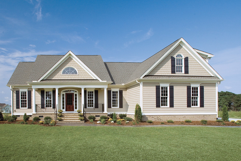 Country Exterior - Front Elevation Plan #929-11 - Houseplans.com