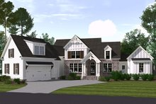 Home Plan - Farmhouse Exterior - Front Elevation Plan #1071-5