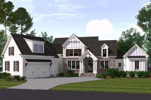 Farmhouse Exterior - Front Elevation Plan #1071-5