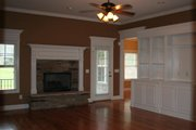 European Style House Plan - 3 Beds 2.5 Baths 2389 Sq/Ft Plan #21-243 Interior - Family Room