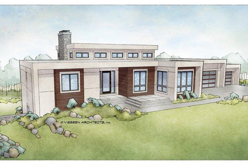 House Design - Ranch Exterior - Front Elevation Plan #928-348
