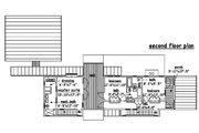 Beach Style House Plan - 3 Beds 4 Baths 2220 Sq/Ft Plan #433-1 Floor Plan - Upper Floor