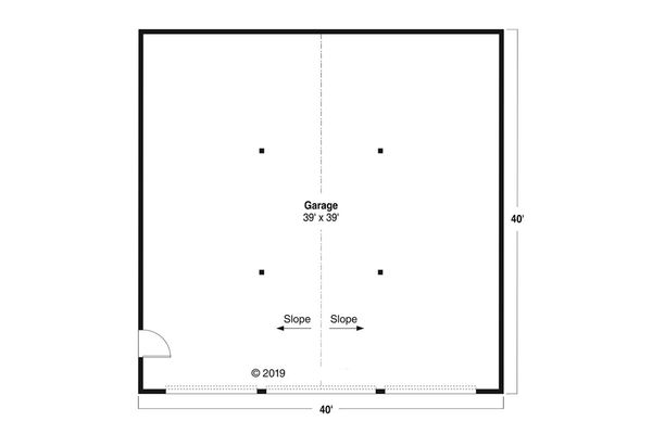 Traditional Floor Plan - Main Floor Plan #124-1180
