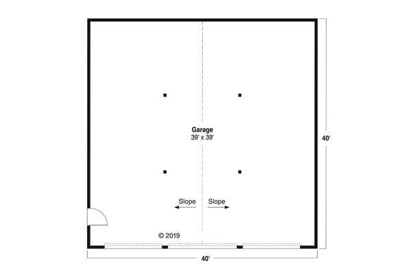 Home Plan - Traditional Floor Plan - Main Floor Plan #124-1180