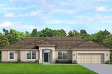 Home Plan - Ranch Exterior - Front Elevation Plan #1058-190