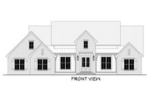 Architectural House Design - Farmhouse Exterior - Other Elevation Plan #430-199