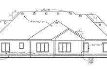 Home Plan - European Exterior - Rear Elevation Plan #20-2065