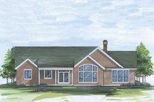 Craftsman Exterior - Rear Elevation Plan #48-101