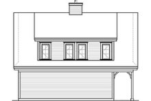 House Plan Design - Country Exterior - Rear Elevation Plan #23-623