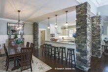 House Plan Design - Craftsman Interior - Kitchen Plan #929-24