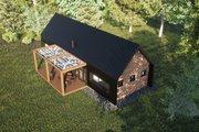 Modern Style House Plan - 2 Beds 2 Baths 853 Sq/Ft Plan #933-11