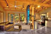 Modern Style House Plan - 2 Beds 2.5 Baths 1953 Sq/Ft Plan #890-6 Interior - Family Room