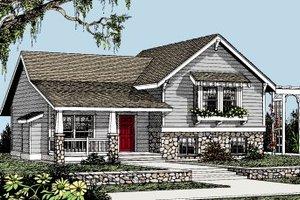 Craftsman Exterior - Front Elevation Plan #101-301