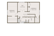 Craftsman Style House Plan - 4 Beds 2.5 Baths 2092 Sq/Ft Plan #461-69 Floor Plan - Upper Floor Plan