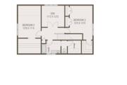 Craftsman Style House Plan - 4 Beds 2.5 Baths 2092 Sq/Ft Plan #461-69 Floor Plan - Upper Floor